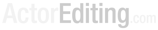 ActorEditing.com logo