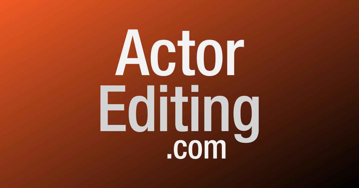 ActorEditing.com